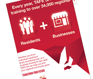 TAFE SA – Campaign creative and implementation