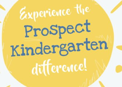 Prospect Kindergarten – increasing brand awareness