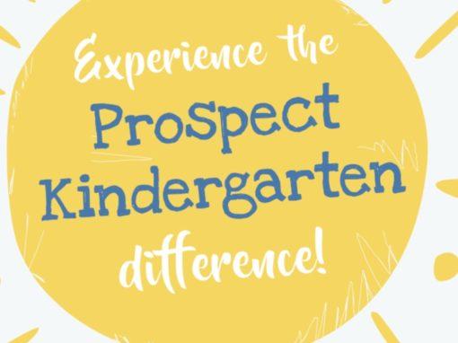 Prospect Kindergarten – increasing brand awareness
