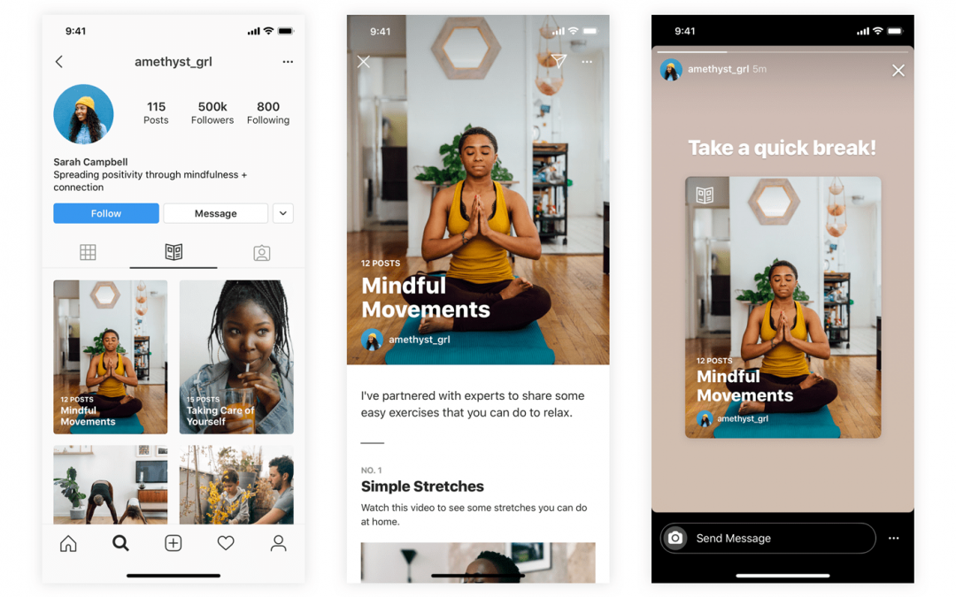 Welcome to Wellness: Instagram launches Guides